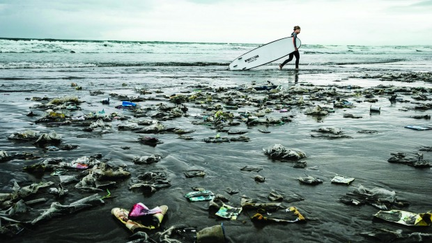 The task of cleaning up the oceans is monumental.