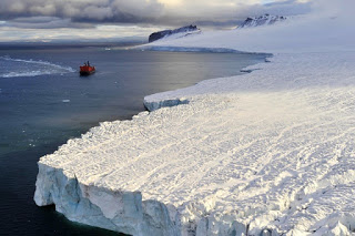 arctic ocean, icebreaker