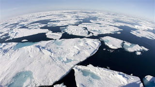 arctic circle, baffin bay, ice floes