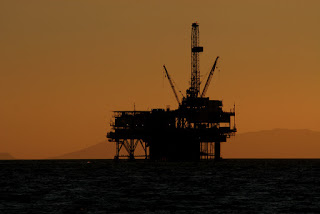 oil rig, offshore oil drilling
