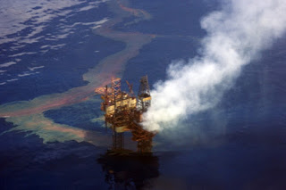 oil spill, oil rig, offshore oil and gas drilling