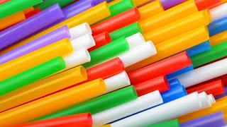 plastic straws, plastic colored straws, plastic straw ban
