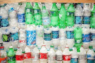 plastic bottles, empty plastic bottles