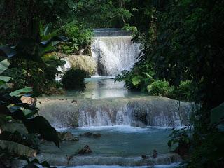 Vanuatu Cascade Waterfall, first country plastic straw ban
